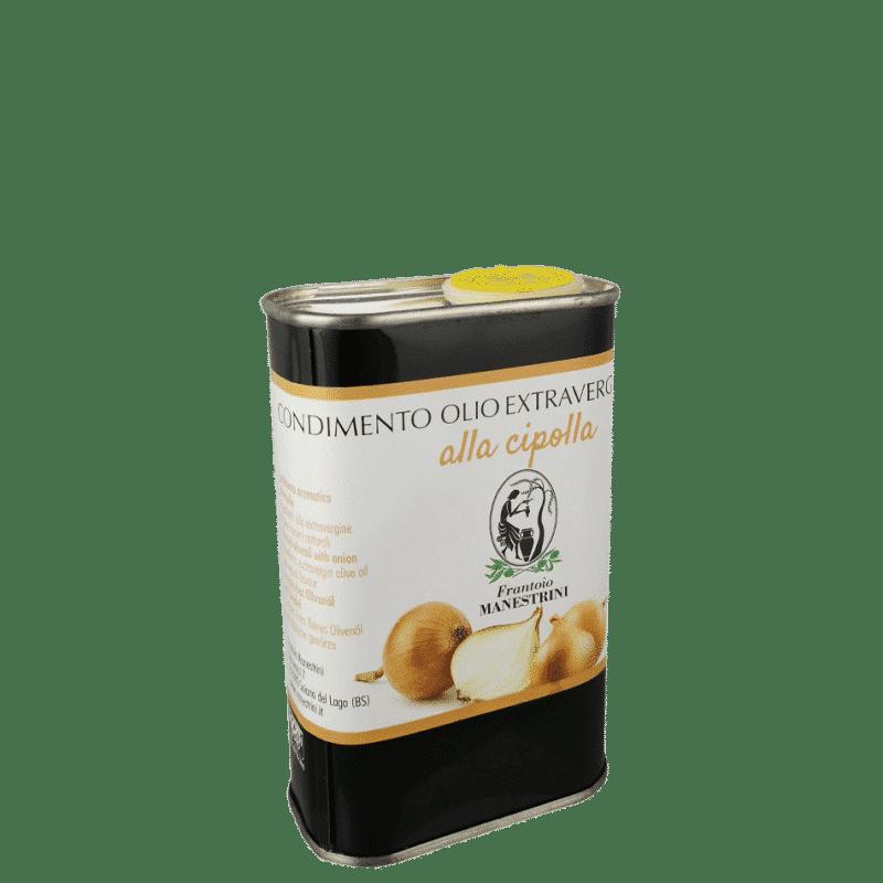 FrantoioManestrini Prodotti CondimentiAromatizzatiaBasediOlioExtraVergineOliva Cipolla lattina 025lt