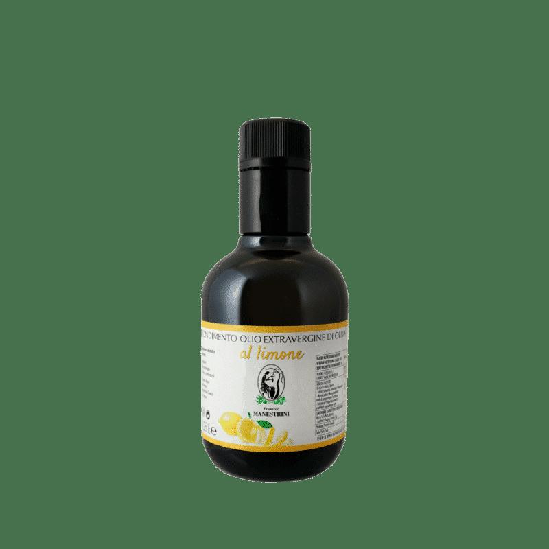FrantoioManestrini Prodotti CondimentiAromatizzatiaBasediOlioExtraVergineOliva Limone bottiglia 025lt 1