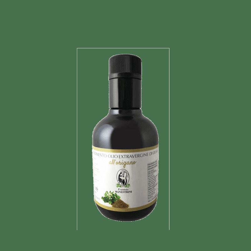 FrantoioManestrini Prodotti CondimentiAromatizzatiaBasediOlioExtraVergineOliva Origano bottiglia 025lt 1