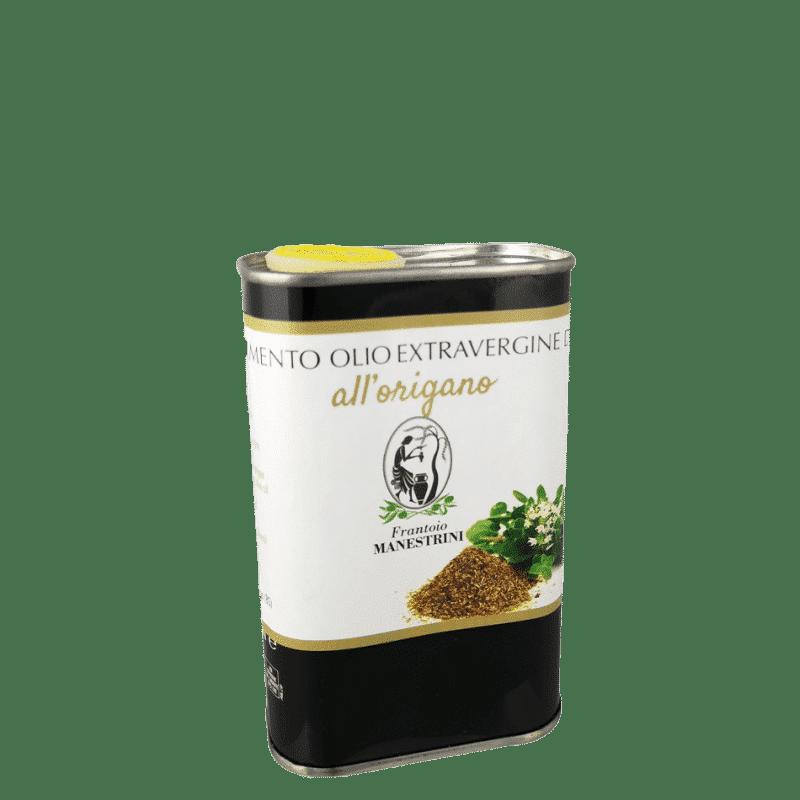 FrantoioManestrini Prodotti CondimentiAromatizzatiaBasediOlioExtraVergineOliva Origano lattina 025lt
