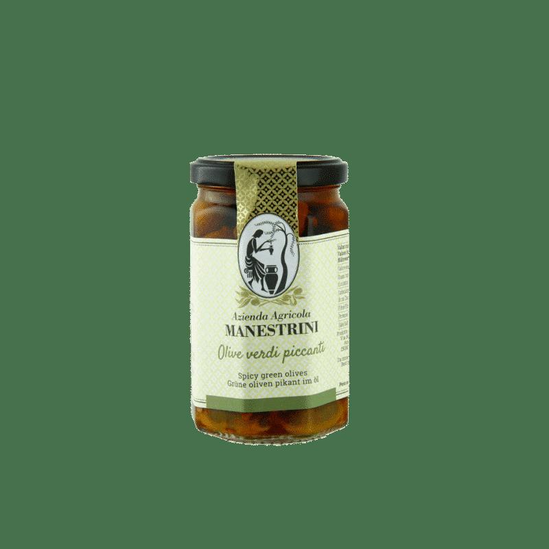 FrantoioManestrini Prodotti SpecialitaGastronomiche Olive Paté Creme OliveVerdiPiccanti 1
