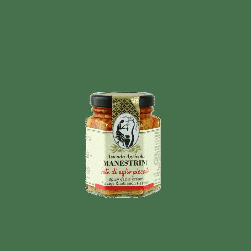 FrantoioManestrini Prodotti SpecialitaGastronomiche Olive Paté Creme PateAglioPiccante 1