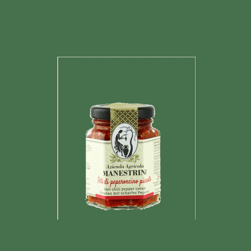 FrantoioManestrini Prodotti SpecialitaGastronomiche Olive Paté Creme PeperoncinoPiccante 1