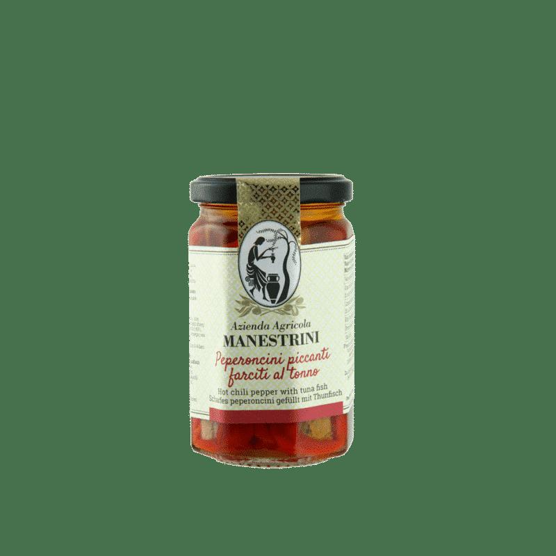 FrantoioManestrini Prodotti SpecialitaGastronomiche Verduresottolio PeperonciniPiccantiFarciti 1