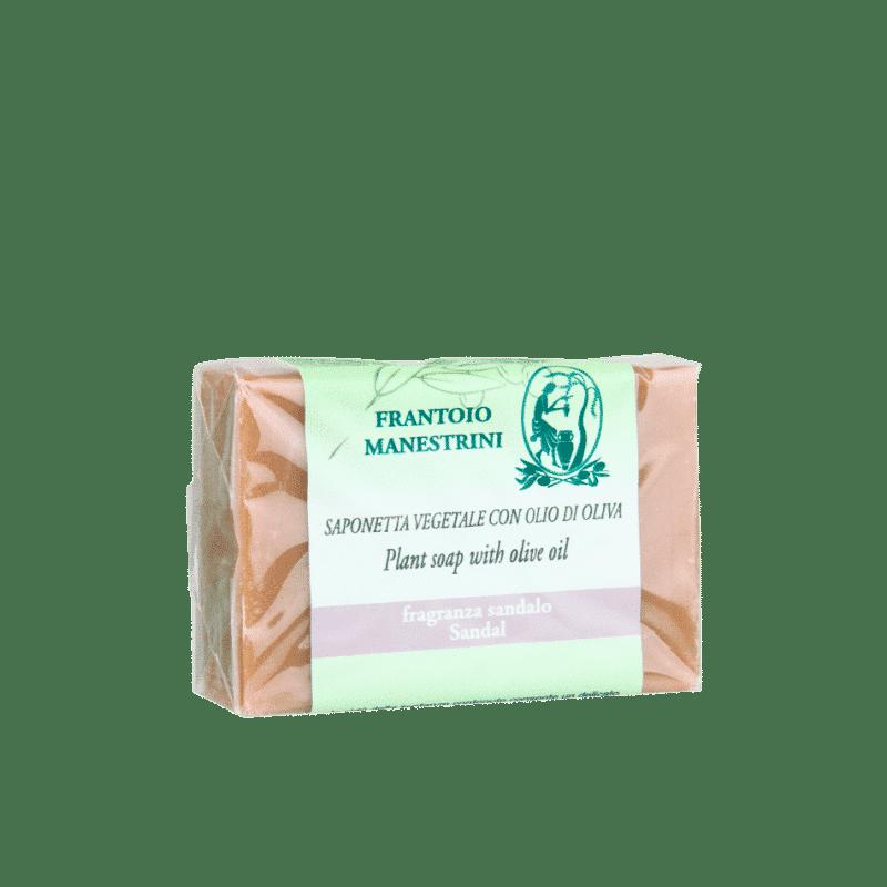 frantoiomanestrini prodotti cosmetici saponettafragranzasandalo 1