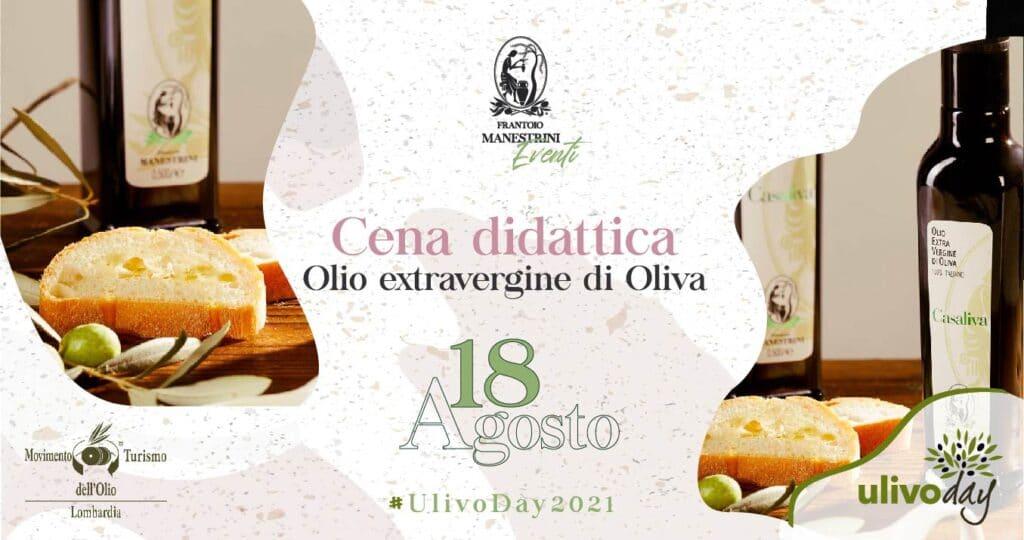 Frantoio Manestrini - Cena didattica olio extra vergine