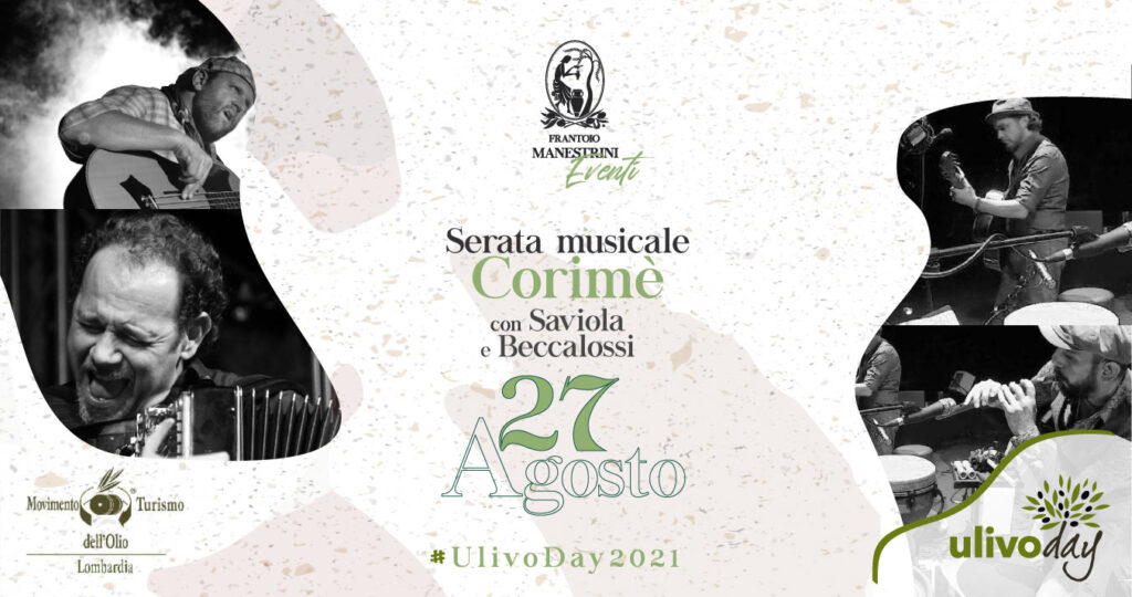 Frantoio Manestrini - Serata musicale Corimè